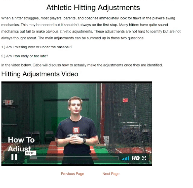 Hitting Coaches Clinic Page